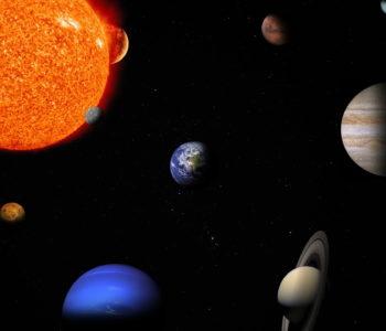 W układzie słonecznym
