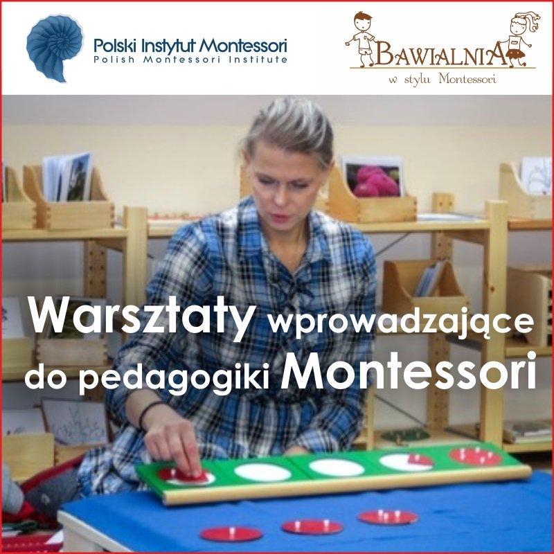 Warsztaty wprowadzające do pedagogiki Montessori