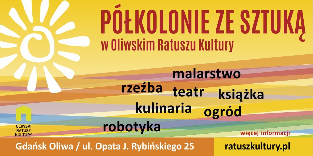 Półkolonie ze sztuką w Oliwskim Ratuszu Kultury