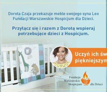 Trwa wielka zbiórka pieniędzy dla dzieci z Fundacji Warszawskie Hospicjum dla Dzieci