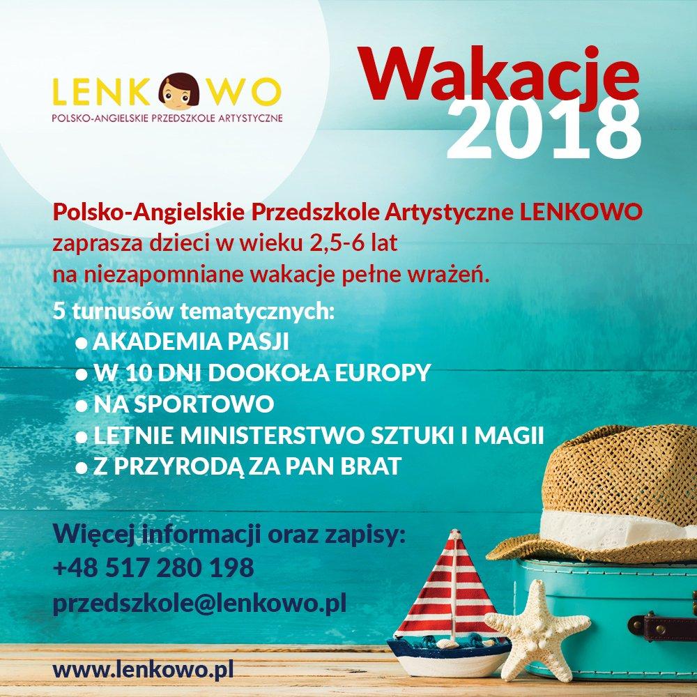 Wakacje 2018 zLenkowem
