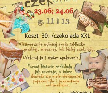 Czerwcowe warsztaty czekoladowe dla dzieci