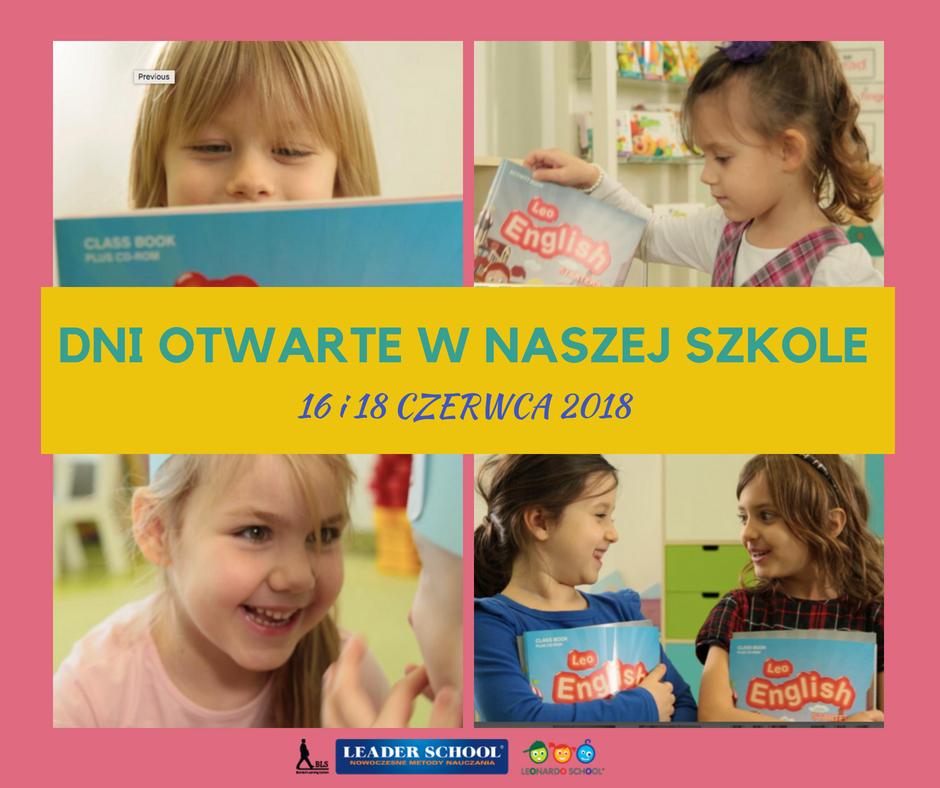 Dni Otwarte w Leader School/Leonardo School