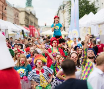 """10. Festiwal Uśmiechu – wielki festyn i święto radości od Fundacji """"Dr Clown"""""""