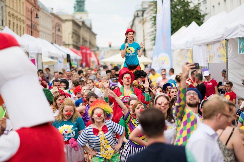 10. Festiwal Uśmiechu – wielki festyn i święto radości od Fundacji Dr Clown