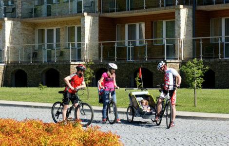 rowery w hotelu Activa