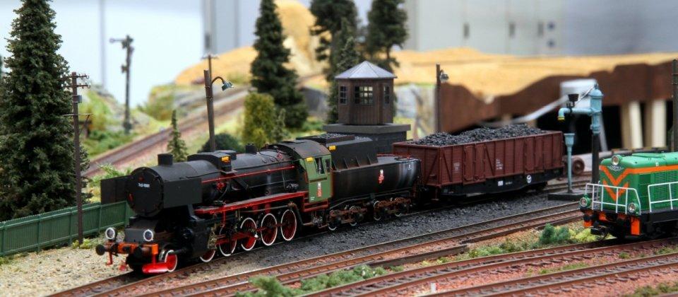 Weekend z wystawą makiet kolejowych