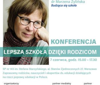 Zmieńmy wspólnie szkołę – jak rodzice mogą ulepszać polską edukację - konferencja