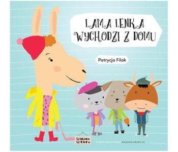 Lama Lenka wychodzi z domu – książeczka dla dzieci
