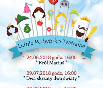 Letnie Podwórko Teatralne 2018. Sosnowiec