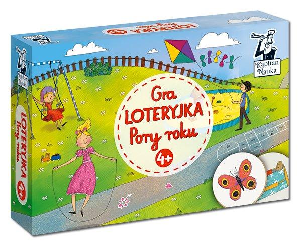 Gra Loteryjka - Pory roku