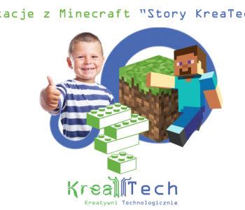 Wakacje z Minecraft: Story Kreatech. Zapisy