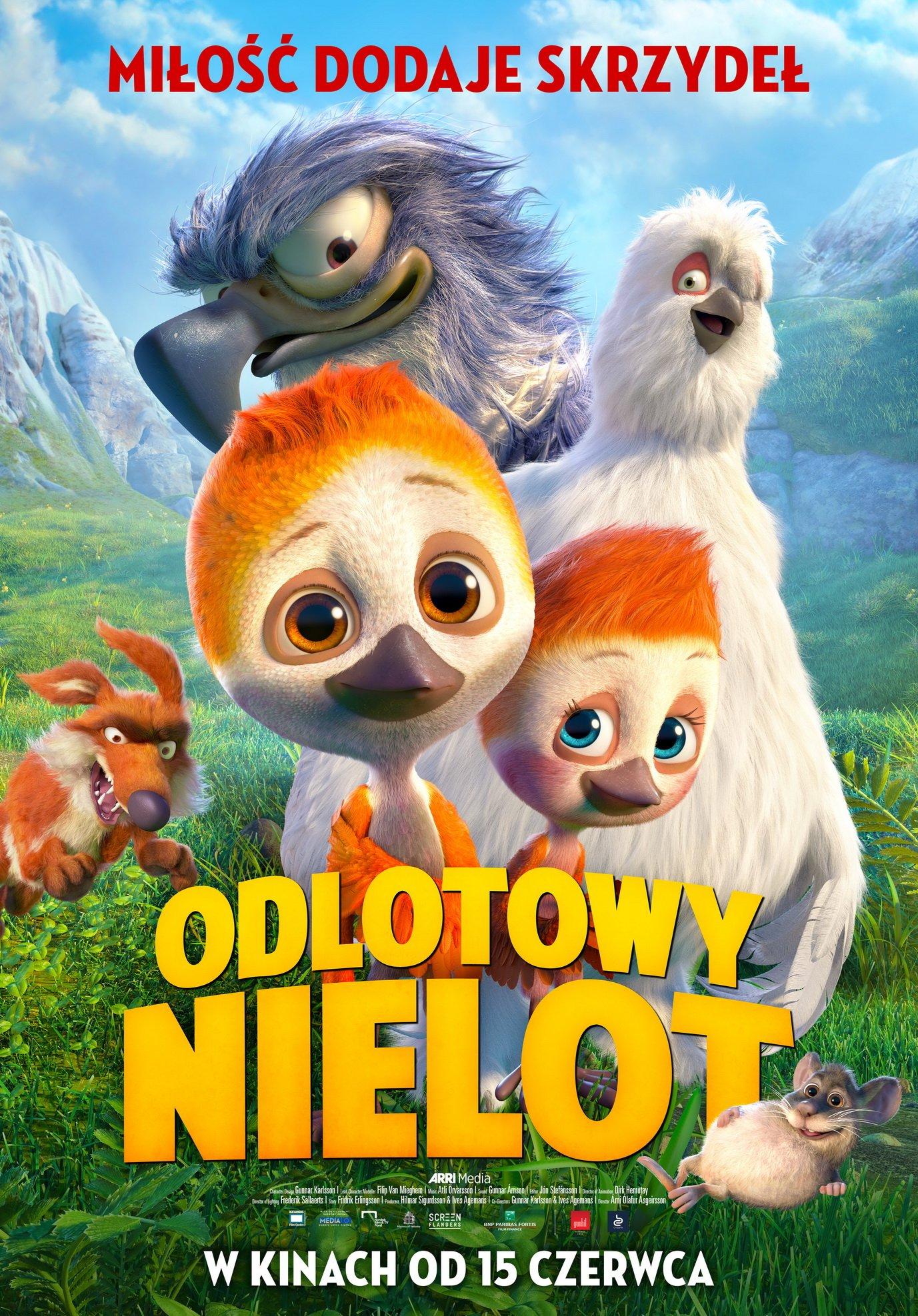 Odlotowy Nielot zaproszenia do kina