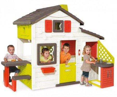 pol_pm_Smoby-Domek-Ogrodowy-dla-Dzieci-Friends-Stolik-Kuchnia-Akcesoria-26040_5