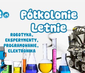 Półkolonie z robotyką i eksperymentami