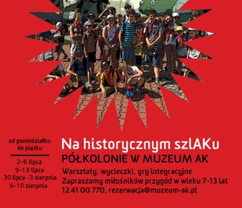 Lato z Muzeum AK! Oferta półkolonii