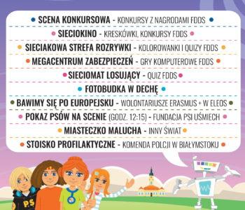 Inauguracja akcji Sieciaki na wakacjach w Białymstoku