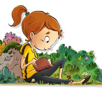 Czytanki w ogrodzie dla najmłodszych