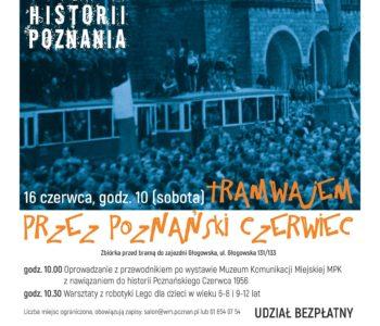 Tramwajem przez Poznański Czerwiec 56 – spotkanie dla dzieci