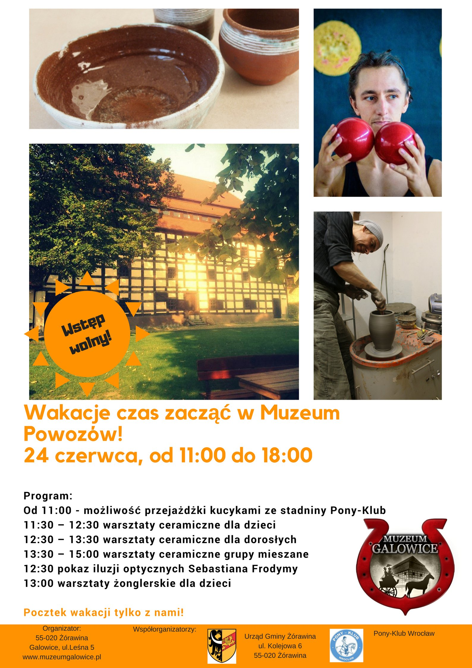 Powitanie lata – Wakacje czas zacząć w Muzeum Powozów Galowice!