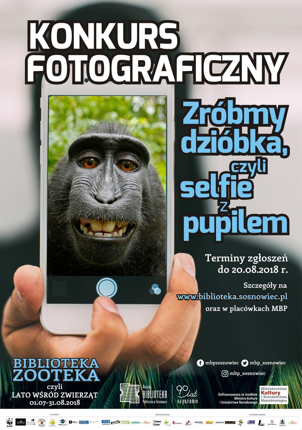 Zróbmy dzióbka, czyli selfie z pupilem – konkurs fotograficzny