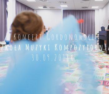 Koncert Gordonowski dla dzieci 0-5 lat - Szkoła Muzyki Kompozytornia