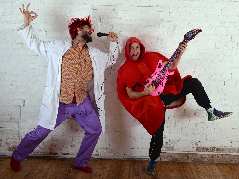 Teatr Pomarańczowy Cylinder: Profesorek Wodorek i Superbohaterowie