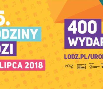 Piknik w Poleskim Ośrodku Sztuki na 595 urodziny Łodzi