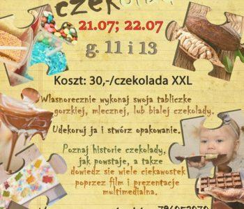 Lipcowe warsztaty czekoladowe dla dzieci