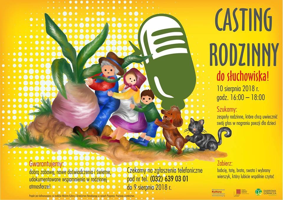 Casting Rodzinny do słuchowiska!