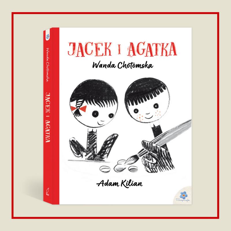 Czytelnicza gratka - Jacek i Agatka
