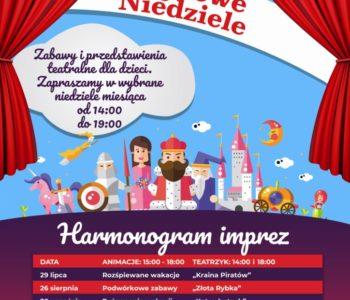 Przedstawienie teatralne i animacje muzyczne dla dzieci w Galerii Bronowice