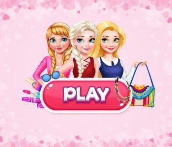 Księżniczki Disneya. Gra online o makijażu i ubieraniu dla dziewczynek