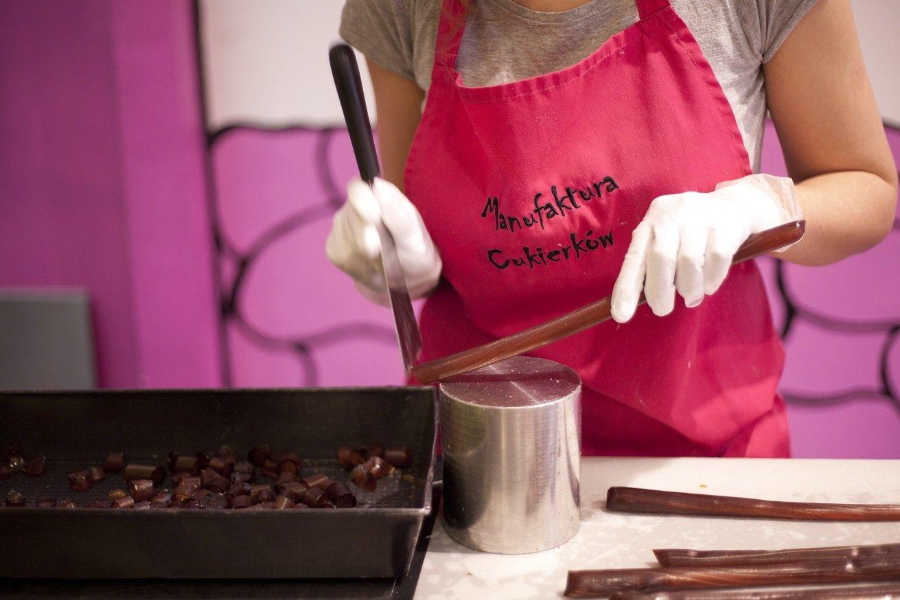 Pokazy Wytwarzania Cukierków w Manufakturze Cukierków