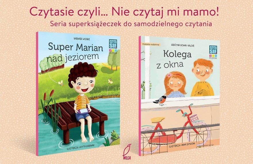 Czytasie - nowa superseria do nauki czytania