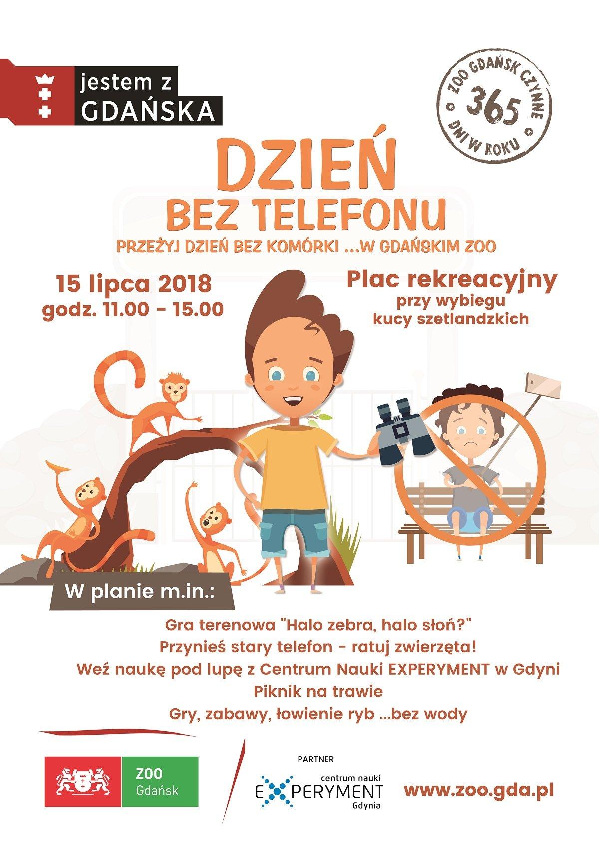 Dzień bez telefonu w gdańskim ZOO
