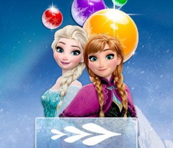 Elsa Bubble Shooter – gra online dla dzieci