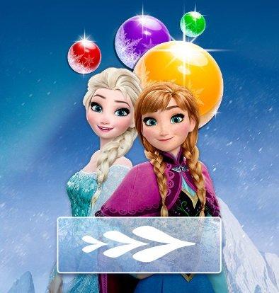 elsa-bubble-shoote darmowa gra online dla dzieci frozen
