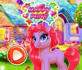 Happy Pony – gra online dla dzieci