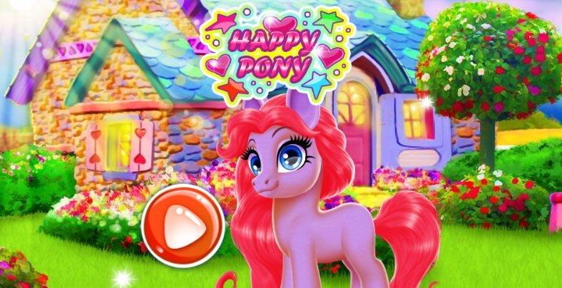 happy pony gra online dla dzieci