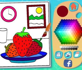 Pokoloruj obrazki – gra kolorowanka online dla dzieci