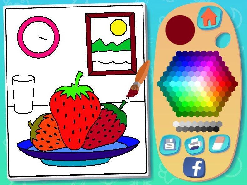 Pokoloruj Obrazki Gra Kolorowanka Online Dla Dzieci Kolorowanki