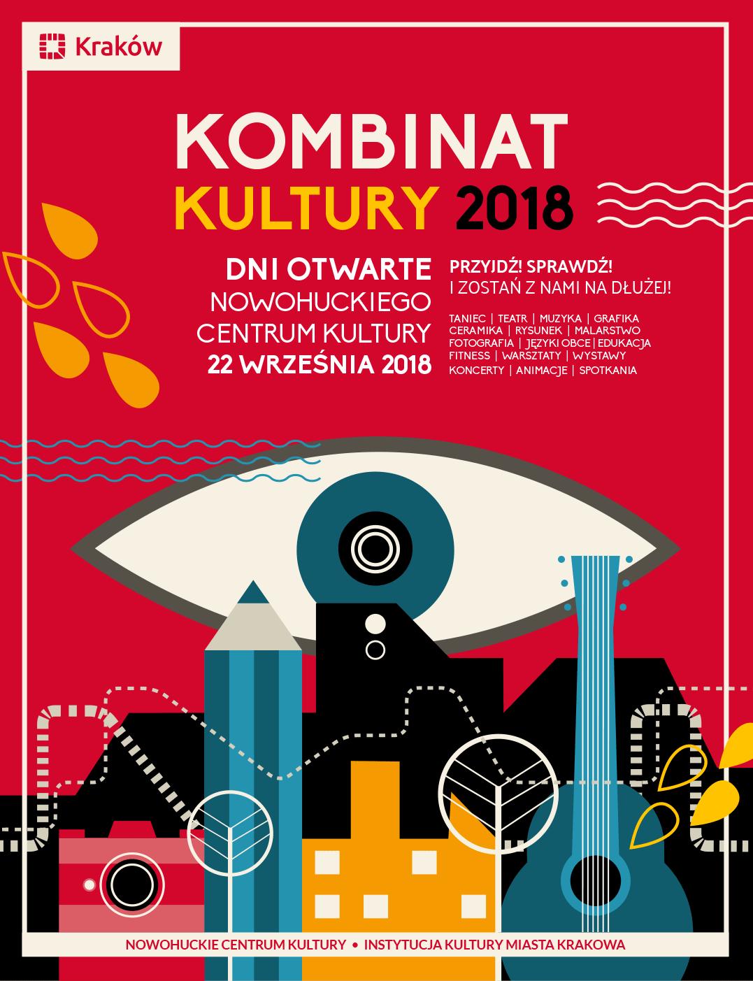 Kombinat Kultury – dzień otwarty NCKjuż we wrześniu
