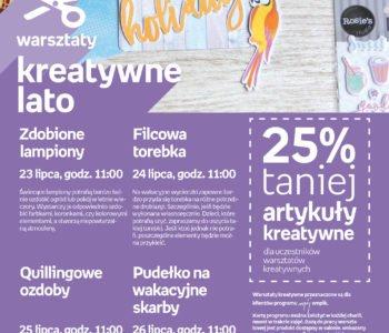 Kreatywne lato w empiku Kazimierz