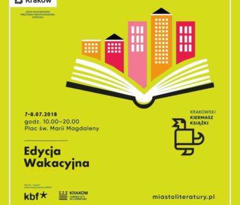 Krakowski Kiermasz Książki wakacyjnie