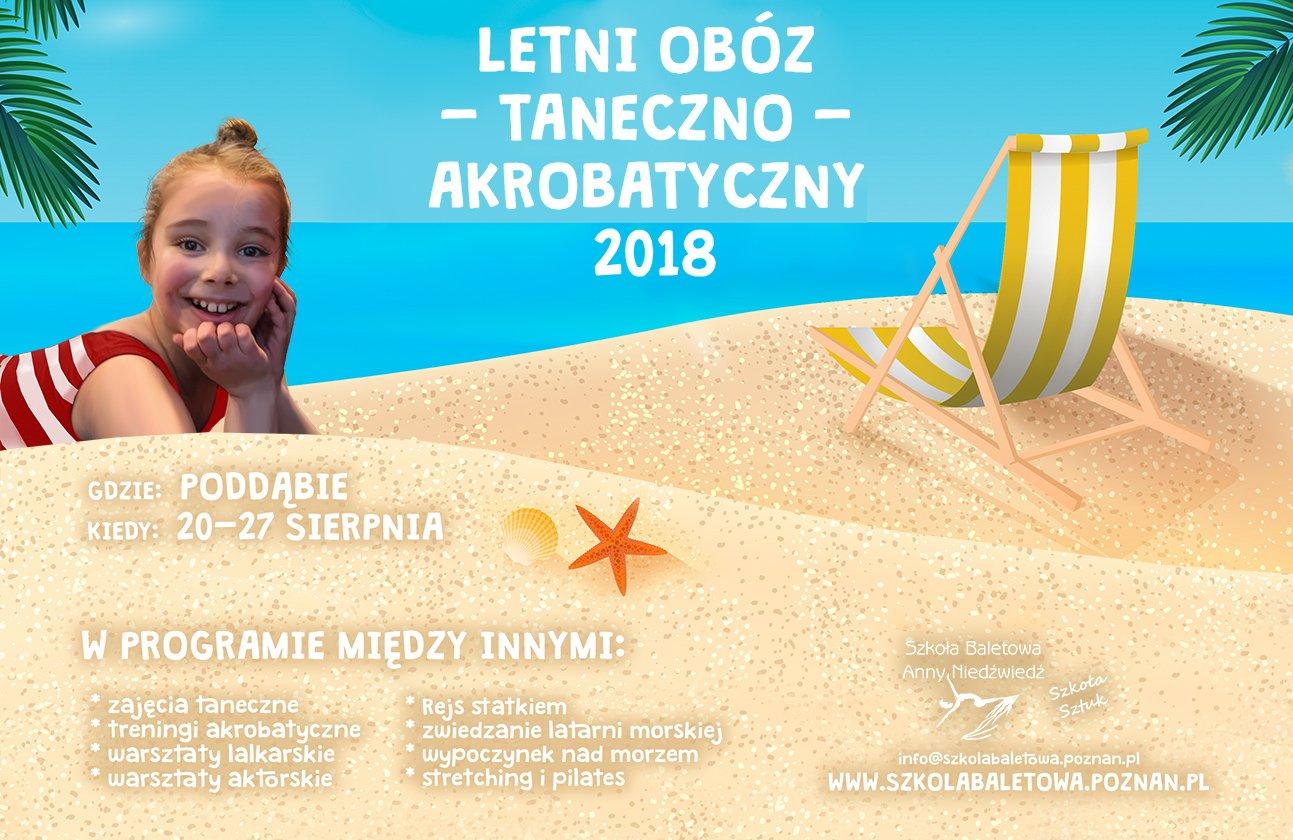 Letni Obóz Taneczno-Akrobatyczny 2018