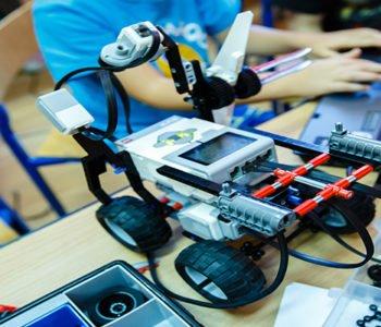 Robo-półkolonie z Planetą Robotów