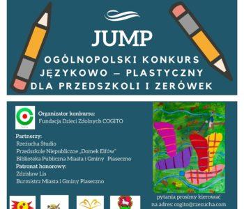 Jump – Ogólnopolski konkurs językowo-plastycznym dla przedszkoli i zerówek