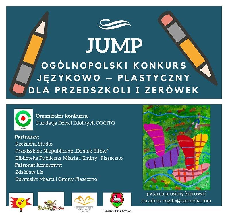Jump - Ogólnopolski konkurs językowo-plastycznym dla przedszkoli i zerówek