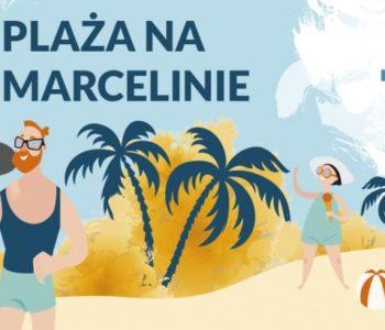 Piaskowa architektura na Plaży na Marcelinie